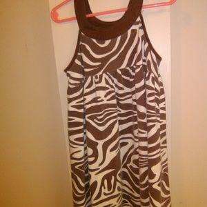Girls Giraffe Nightgown